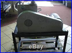 EDWARDS ED660 HIGH VACUUM PUMP WithTABLE, SAFETY SWITCH AND METER XLNT