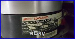 EDWARDS EXT255H TURBOMOLECULAR VACUUM PUMP B753-01-000 Waters Micromass