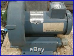 EG&G Regenerative Blower Motor. 5 HP Model #DR303AE72 208-230/460V 3PH #018KW