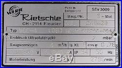 ELMO RIETSCHLE VGC-4 (08) Vakuumpumpe Vacuum pump Pumpe 0,2kW 2mbar 4m³/h 3