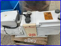 Edwards 28 E2M28 Rotary Vane Dual Stage Pump, tested working with good condition