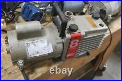 Edwards 2 Stage High Vacuum Pump E2M8 WORKING