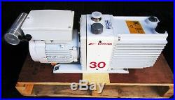 Edwards 30 E2M30 Rotary Vane Dual Stage Mechanical Vacuum Pump 110V
