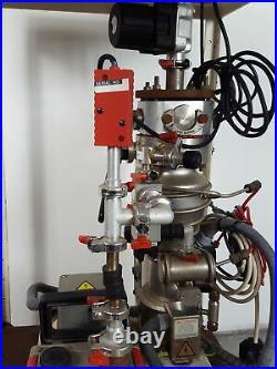 Edwards 5 E2M5 High Vacuum Pump, Pirani Penning 1005 Controller & Table Lab