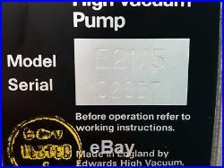 Edwards 5 E2M5 Rotary Vane Dual Stage Mechanical Vacuum Pump