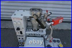 Edwards DIFFSTAK Model 63/150 diffusion pump with 15 vacuum pump