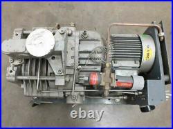 Edwards DP40 Multi Stage Dry Vacuum Pump with 2.2kW Alpak BS 5000 Motor 208/460V
