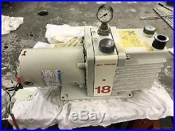 Edwards E1M18 Vacuum Pump New Filter Kit And Bench Tested