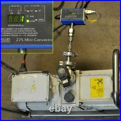 Edwards E2M18 Rotary Vane Vacuum Pump A36317984 with Leroy Somer Motor Drips