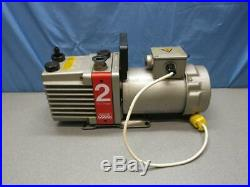 Edwards E2M2 Dual Stage Rotary Vane High Vacuum Pump 220V