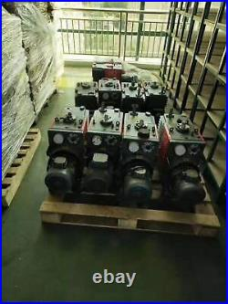 Edwards E2M80 Rotary Vane Vacuum Pump, Working