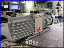 Edwards E2m3 Two Stage Rotary Vane Vacuum Pump 240 Vac 1 Phase. 90 Kw 1740 RPM