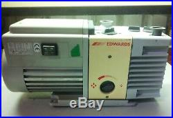 Edwards RV3 Code A652-01-906 Rotary Dual Stage Vane Vacuum Pump 115V-240V
