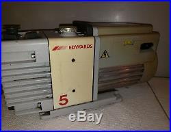 Edwards RV5 Dual Stage Vacuum Pump