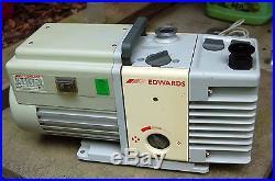 Edwards RV5 Vacuum Pump Rebuilt