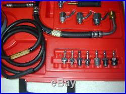Engine Vacuum & Fuel Pump Pressure Gauge Set Snap on Tools MT311JB