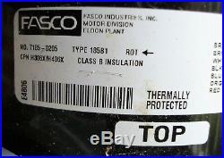 Fasco 185b1 Motor Compressor Pump Gast 75r740-110-h306x
