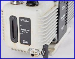 Fisher Scientific M6C Maxima C-Plus Industrial Rotary Vane Vacuum Pump Unit #2