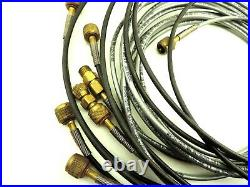 Fluke 700PTP1 Pneumatic Test Pump 0-600 psi with Analog Gauge Tested w. Hoses