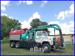 Ford L8000 Ta Vacuum Truck Sewer Jetter Combo Rodder Septic Pump Truck Video