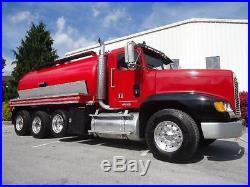 Freightliner Fld 120 Tri Axle Vacuum Tanker Pumper Septic Tank Pump Truck