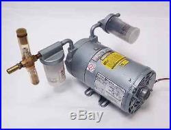 GAST 0322-V125-G558DX VACUUM PUMP with GE 5KH35GN712GT 1/4HP AC MOTOR