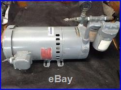 GAST 1023-V103-G279 Vacuum Pump. 75 Hp 3Ph 208-220/380-440V 50/60 Hz