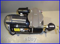 GAST 72R Air Pump Compressor Single Cyl. Oil-less Rocking Piston 1/3HP EMI HEPA