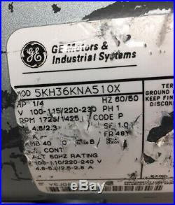 GE G588DX Vacuum Pump Motor With AMJ3000-N025 Vacuum Pump And Hose