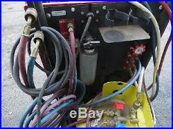 GE Robinair 17700A Refrigerant Recovery R12 Station with Gauges Tank Vacuum Pump