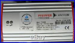 GOOD PFEIFFER TMH 071P TURBO VACUUM PUMP with TC100 Controller