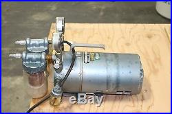 Gast 0322-v4b-g18dx Rotary Vane Vacuum Pump Working
