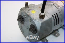 Gast 0523-103Q-G588DX Vacuum Pump GE 5KH36KNA510X Motor 1/4 HP 1725/1425 RPM