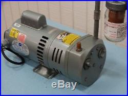 Gast 0823-V152Q-G274X Vacuum. 5HP 50/60Hz 110-115/220-230V with Intake Filter