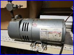Gast 1/4 HP Rotary Vane Vacuum Pump 115/230V 0523-101Q-G180X