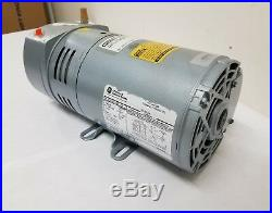 Gast 1/4 HP Rotary Vane Vacuum Pump 115/230v 0523-101Q-SG588DX
