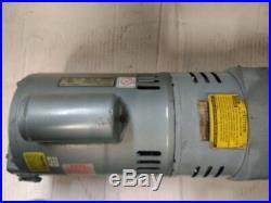Gast 3/4 HP Vacuum Pump Doerr Motor