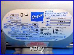 Gast 5HCD-10-M500X Vacuum Pump Compressor with Doerr 3/4 HP Motor LR22132