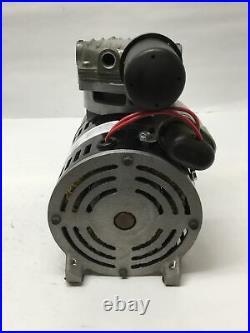 Gast 74R130-P180-H201X Rocking Piston Compressor Vacuum Pump 1/4HP, 230V, 100PSI