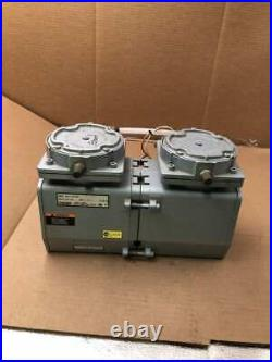 Gast DAA-P103-EB Two-Stage Oilless Diaphragm Vacuum Pump 115/110V 60/50Hz