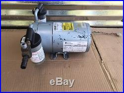 Gast Manufacturing Corp. 0322-V125-G558DX Rotary Vane Vacuum Compressor Pump