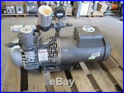 Gast Pump With Electric Motor M/n# 2567-p102 # 520150b Used