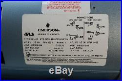 Gast Rotary Vane Vacuum Pump 1023-318Q-G274AX 25 Hg 115/208-230V 1Ph