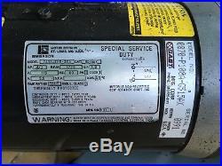 Gast Vacuum Pump Emerson Motor TA55JXED-365 G5IAX 0870-P108A-G515AX 0991