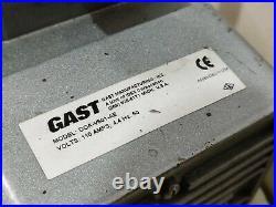Gast Vacuum Pump for Diamond core drill Stand base weka Hilti marcrist husqvarn