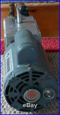Ge Robinair High Vacuum Pump 15101-b 5 Cfm Free Shipping