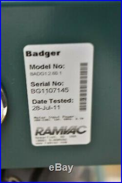 Good Used RamVac Badger Dental Vacuum Pump System Operatory Suction Unit