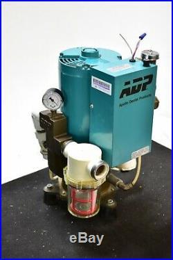 Great Used Adp Apollo Gv20Sr Dental Vacuum Pump System Operatory Suction Unit