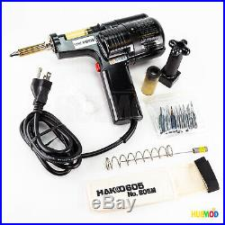 HAKKO 808-KIT/P Self Contained Desoldering Gun with Internal Vacuum Pump + Case