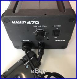 HAKKO Desoldering Tool with built-in Vacuum Pump 470-2 with 0802 Soldering Gun